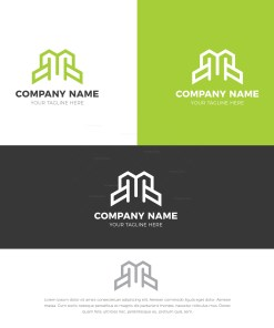 M Stylish Logo Design Template