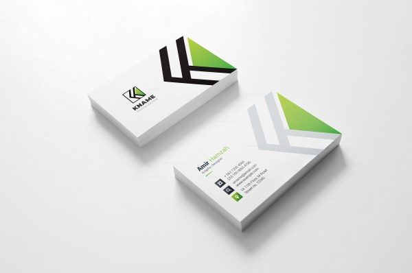 Name Creative Business Card Design