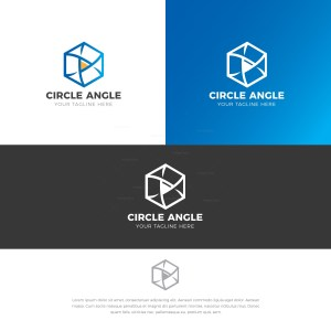 Recycle Stylish Logo Design Template