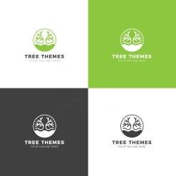 Tree Premium Creative Logo Design Template