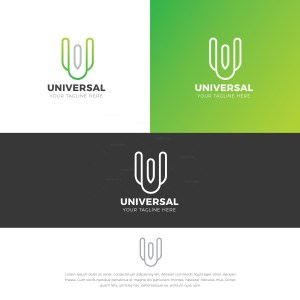 Universal Stylish Logo Design Template