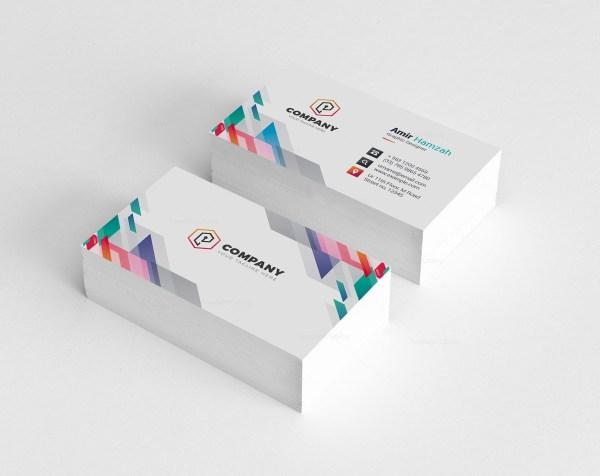 Vibrant Creative Business Card Design