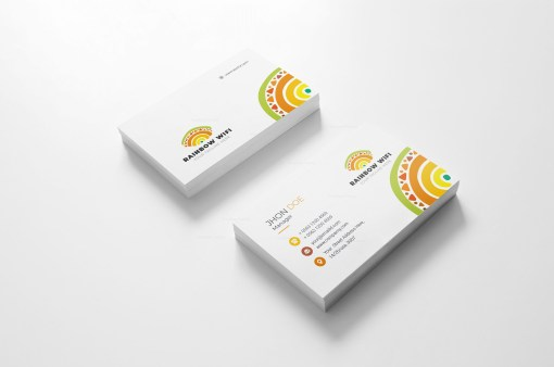 Wifi Creative Business Card Design