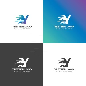 Y Creative Logo Design Template