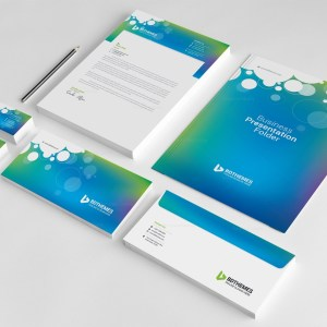 Commercial Corporate Identity Pack Design Template