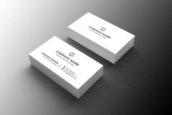 Doctor Minimal Business Card Design