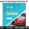 Elegant Car Wash Company Web Banner Set
