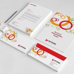 Health Corporate Identity Pack Design Template