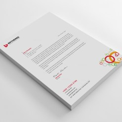 Luxury Letterhead Design Template