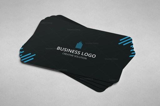 Minimal Mechanic Business Card Design