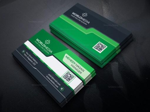 Stylish Media Business Card Design
