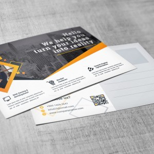 Attorney Corporate Postcard Template