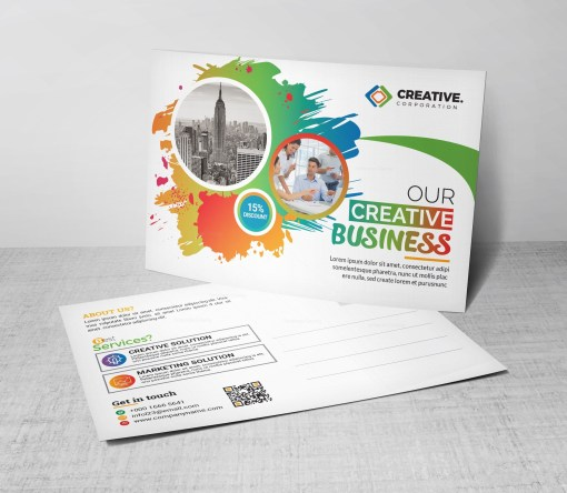Creative Postcard Design Template