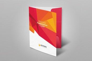 Education Presentation Folder Template