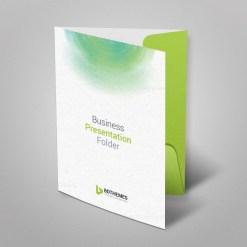 Environment Presentation Folder Template