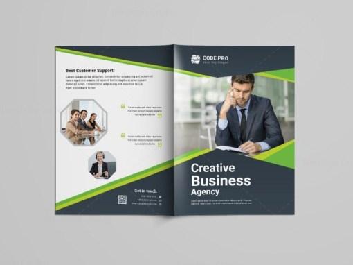 Factory Bi-Fold Brochure Template