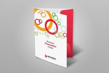 Health Presentation Folder Template