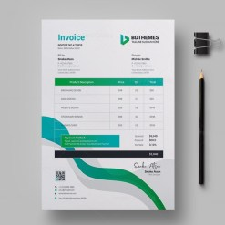 Insurance Invoice Design Template