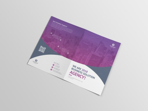 Medical Bi-Fold Brochure Template