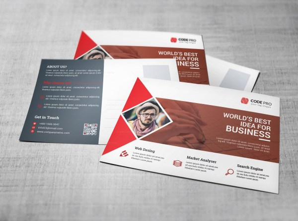 Mortgage Postcard Design Template