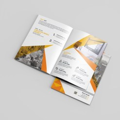 Photography Bi-Fold Brochure Template
