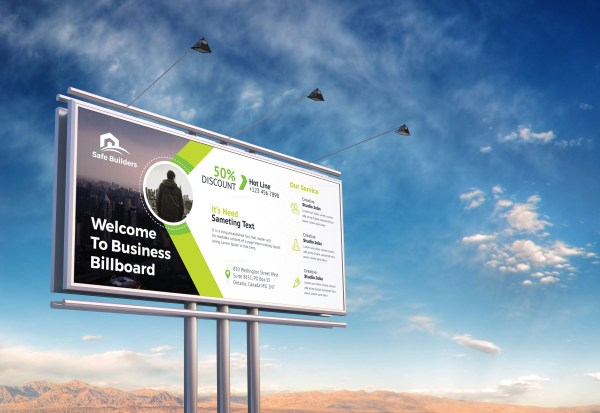 Billboard Banner Design
