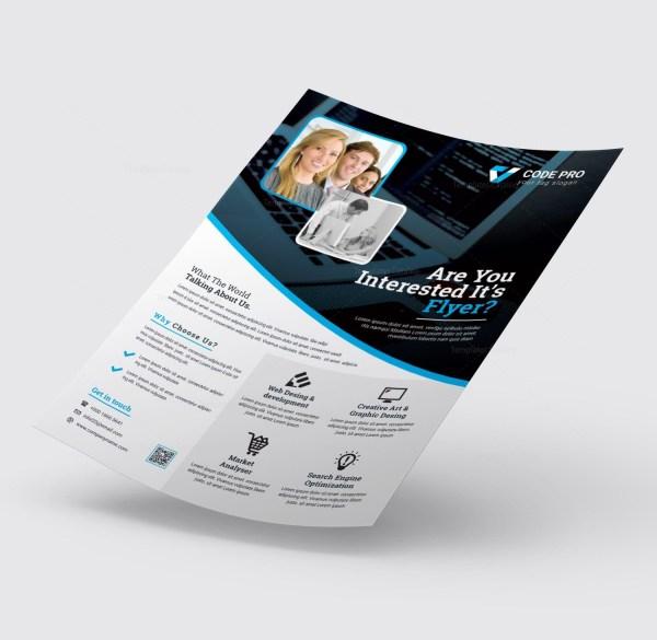 Elegant Printable Business Flyer