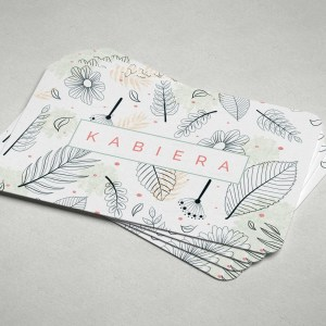 Leaf Business Card Design