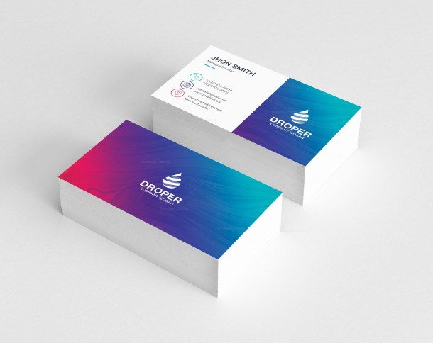 Art Stylish Business Card Design