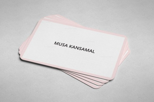 Candy Business Card