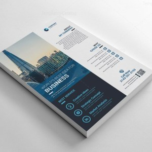 Classic Printable Corporate Flyers