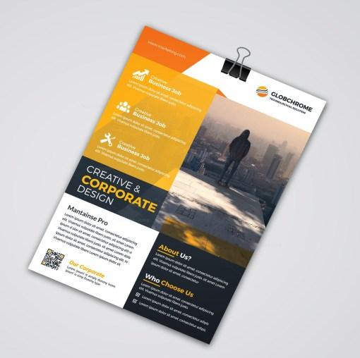 Creative Print Flyer Templates