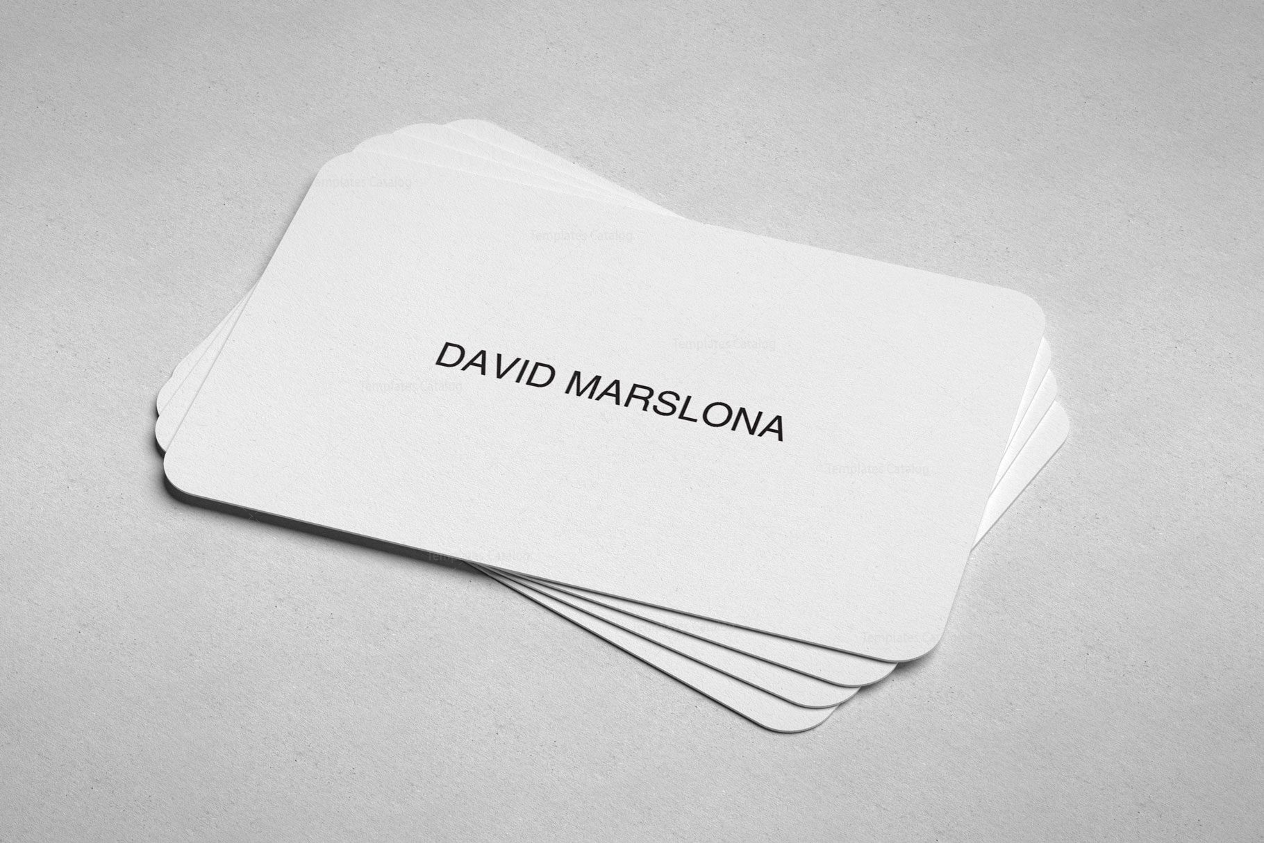 Easy Print Business Card Design