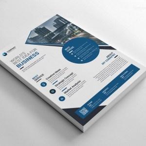 Elegant Printable Corporate Flyer