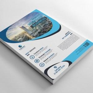Elegant Printable Corporate Flyers