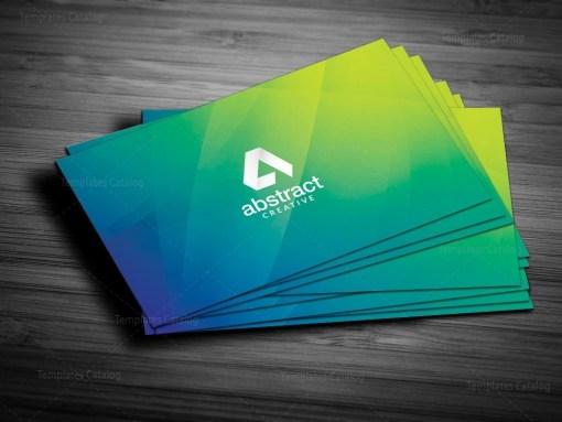 Green Elegant Business Card