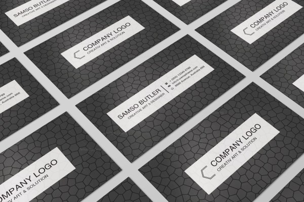 Ornament Business Cards