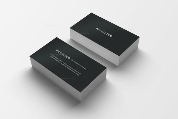 Pink Black Business Cards