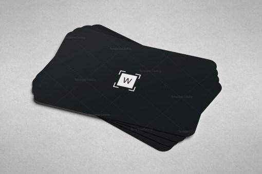 Plain Print Business Card Template