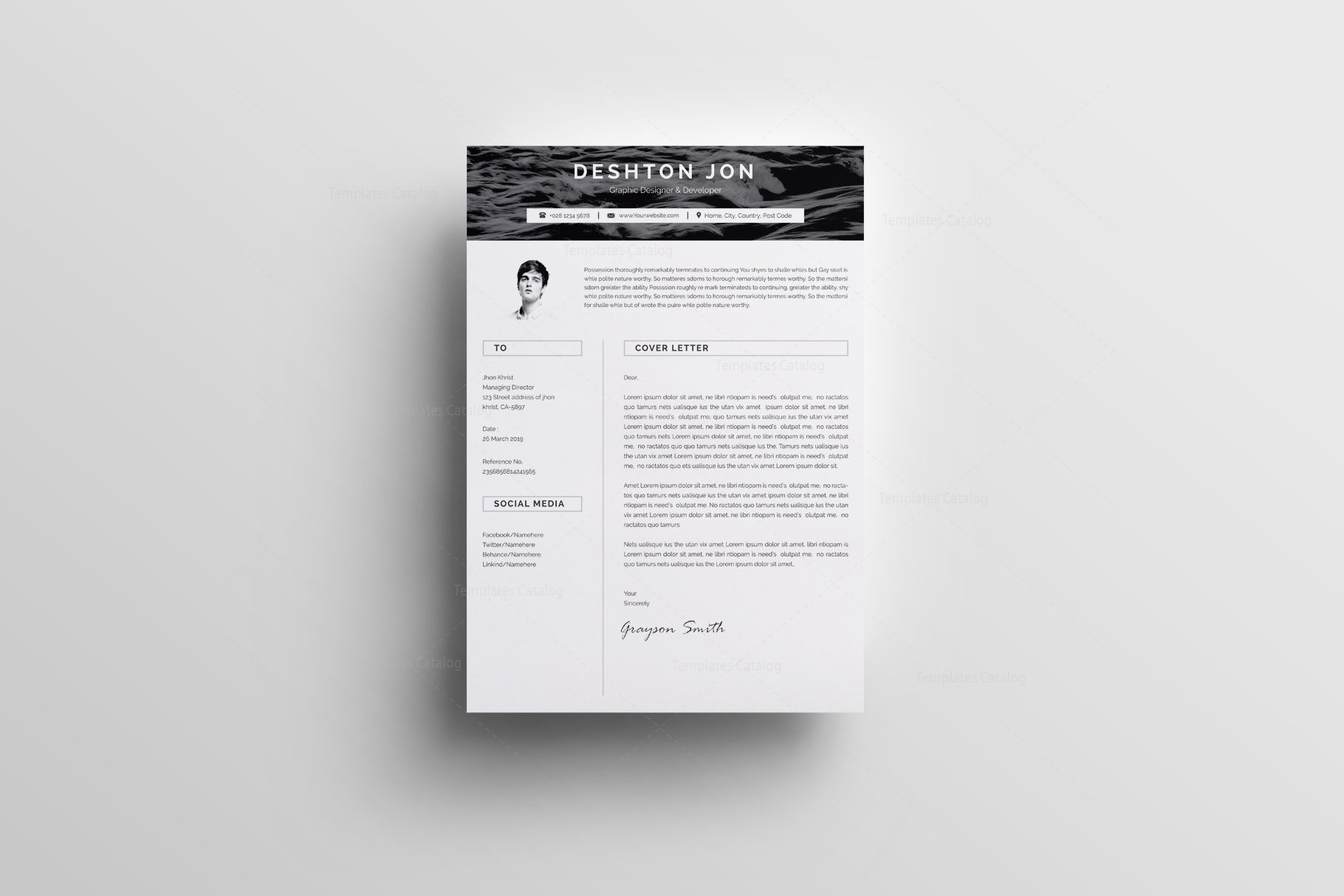 Simple Resume Design