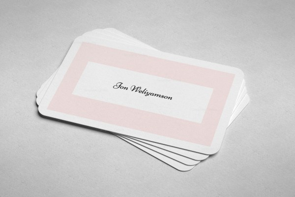 Stylish Print Business Card