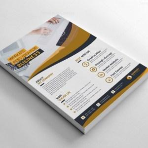 Stylish Printable Corporate Flyers