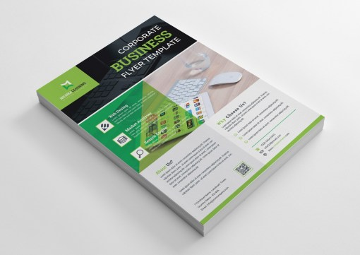 Web Design Print Flyer Template