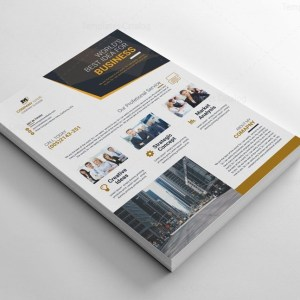 Clean Corporate Flyers Templates