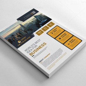 Modern Corporate Flyers Design