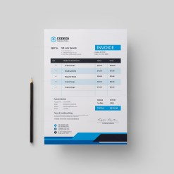 Creative Invoice Design