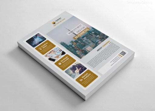 Exclusive Flyers Template Design