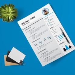 Minimalist Resume Design