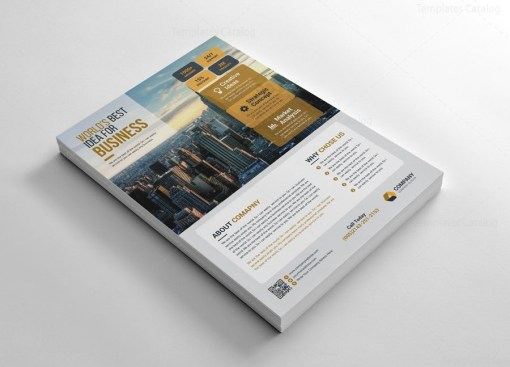 Print Corporate Flyers Graphic