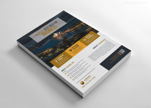 Print Flyers Template Design